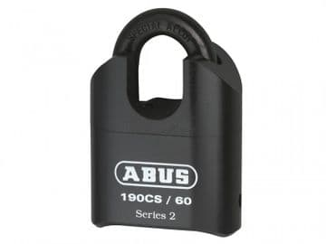 190/60 60mm Heavy-Duty Combination Padlock Closed Shackle (4-Digit) Carded